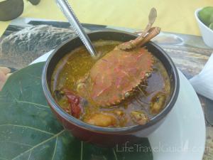 """Супа микс от морски дарове за """"по издръжливи среднощни преживявания"""" (сервитьора)"""