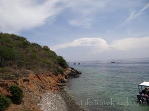 Отидохме на безлюден остров и в близост до брега направихме пъровто гмуркане